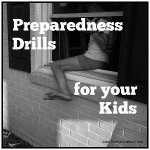 Preparedness Drills  http://thesurvivalmom.com/try-it-today-preparedness-drills-kids/