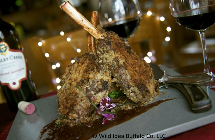 Wild Idea Buffalo Recipe of the Week - Panco Crusted Buffalo Ribeye Chops