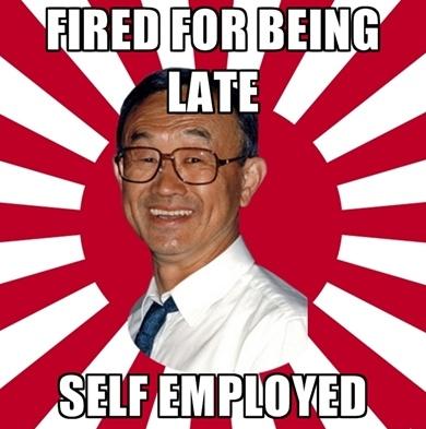 Overly Dedicated Japanese Businessman