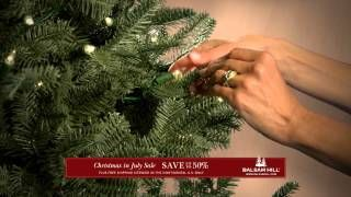 Balsam Hill #ChristmasInJuly sale on YouTube