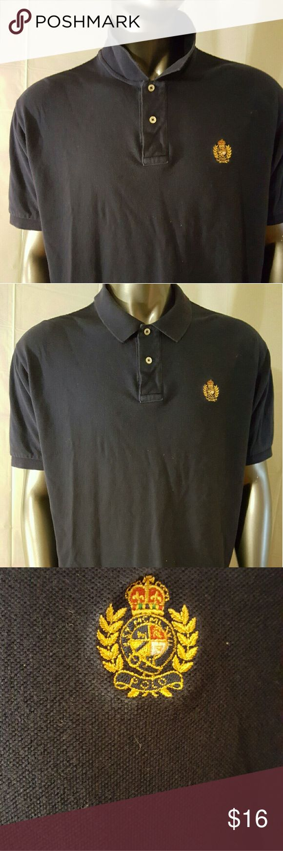 Polo Ralph Lauren  Mens Shirt  1X Large XL Polo Ralph Lauren  Mens Shirt  1X Large XL  Navy Blue  Special logo   Good Condition Polo by Ralph Lauren Shirts Polos