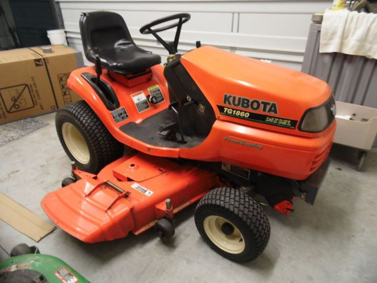 Kubota Diesel Lawn Mower : Best images about cool lawn mowers on pinterest old