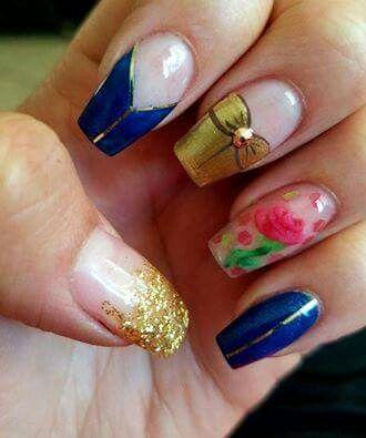 1724 disney nails