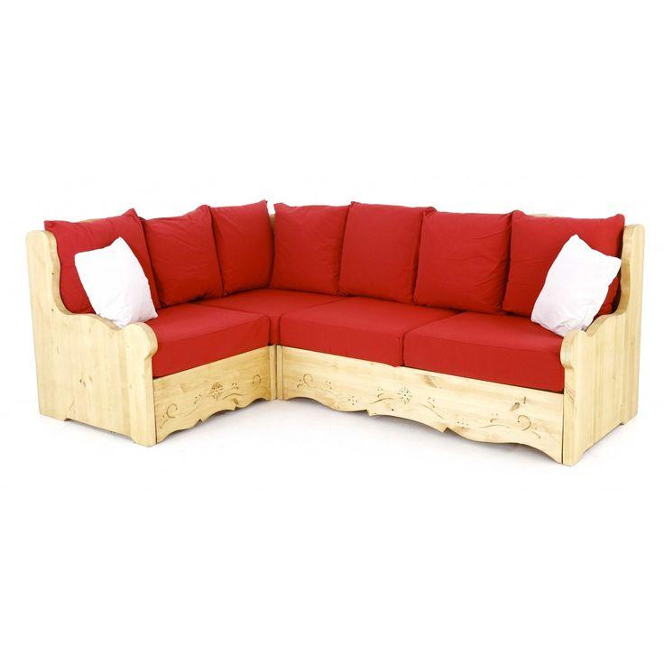 les 102 meilleures images du tableau canap s chalet et. Black Bedroom Furniture Sets. Home Design Ideas