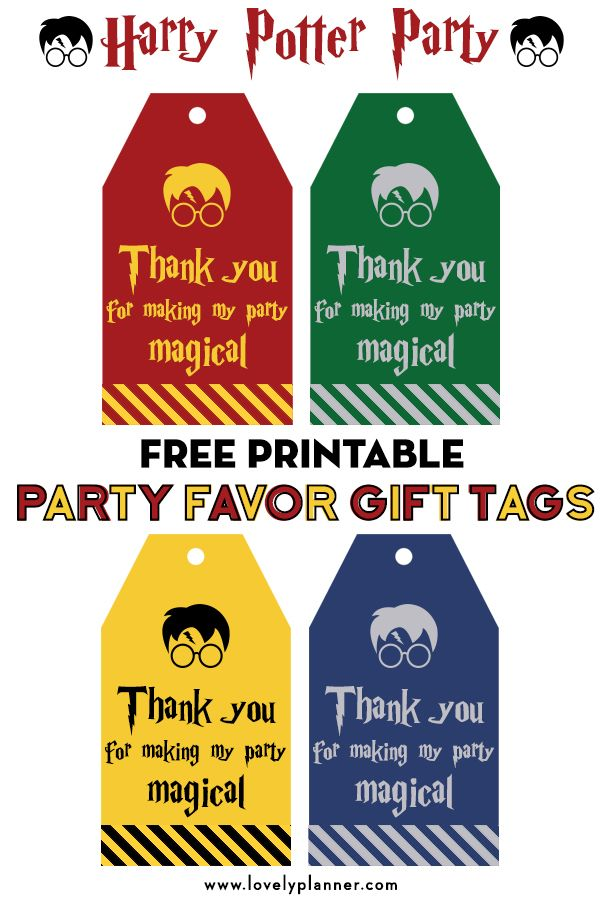 graphic about Printable Harry Potter referred to as Free of charge Printable Harry Potter Social gathering Like Present Tags Harry