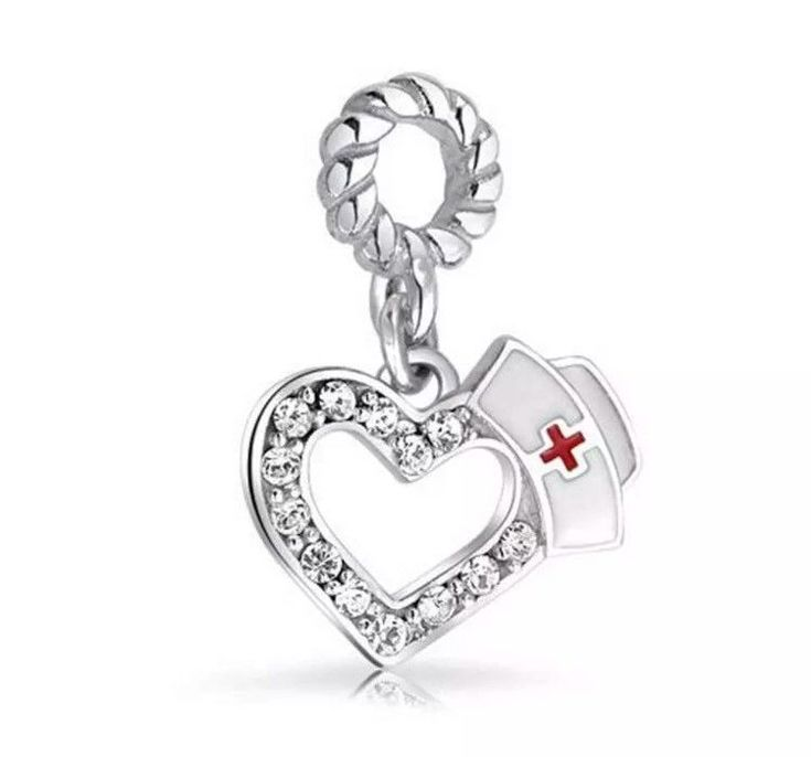 Pandora Nurse LPN Doctor PC 925 Sterling Silver Charm Dangle