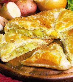 Plăcintă cu cartofi și ceapă | Retete culinare - Romanesti si din Bucataria internationala