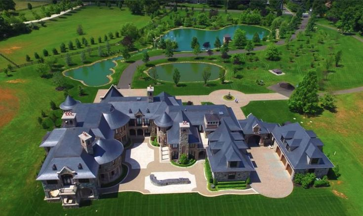 This 31,000 square foot mega mansion is located in Colts Neck, NJ and is listed at $13.5 million!