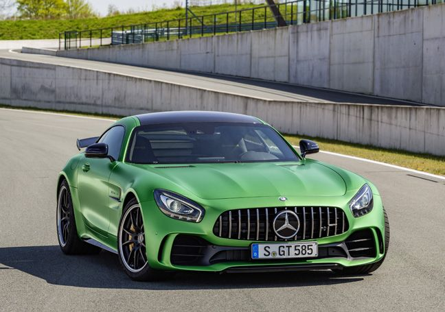 Nouvelle Mercedes-AMG GT R : Née dans l'enfer vert.