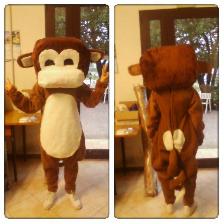 Mascotte Scimmia