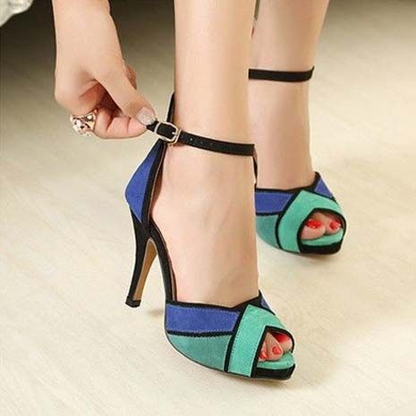 small size high heel shoes