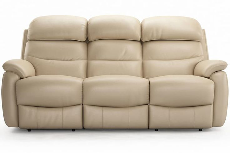 Tyler 3 Seater Leather Recliner Sofa | Ireland