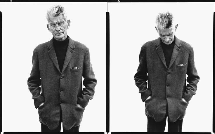 Samuel Beckett by Richard Avedon