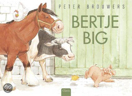 *▶ Prentenboek: Bertje Big! Bertje mag voor het eerst in een modderbad. Hij vindt het helemaal niet leuk en rent weg. Hij wil liever een ander dier zijn, maar welk dier hij ook tegenkomt er is telkens iets wat Bertje helemaal niet bevalt. Zou het toch leuk zijn om een biggetje te zijn?