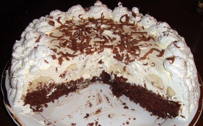 Za méně než 45 minut připravit dort? Dá se to! Tento banánový dort je toho příkladem.