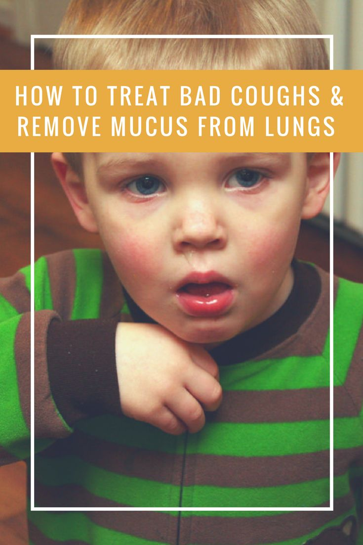 How to Treat Bad Coughs and Remove Mucus from Lungs - Give this all-natural home remedy a shot. It's very effective