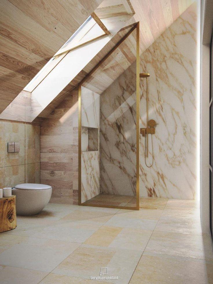 j'aime bien les salles d'eau épuré au luxe modeste et sans chichi