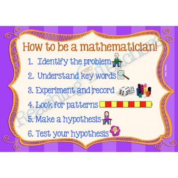 How to be a Mathematician