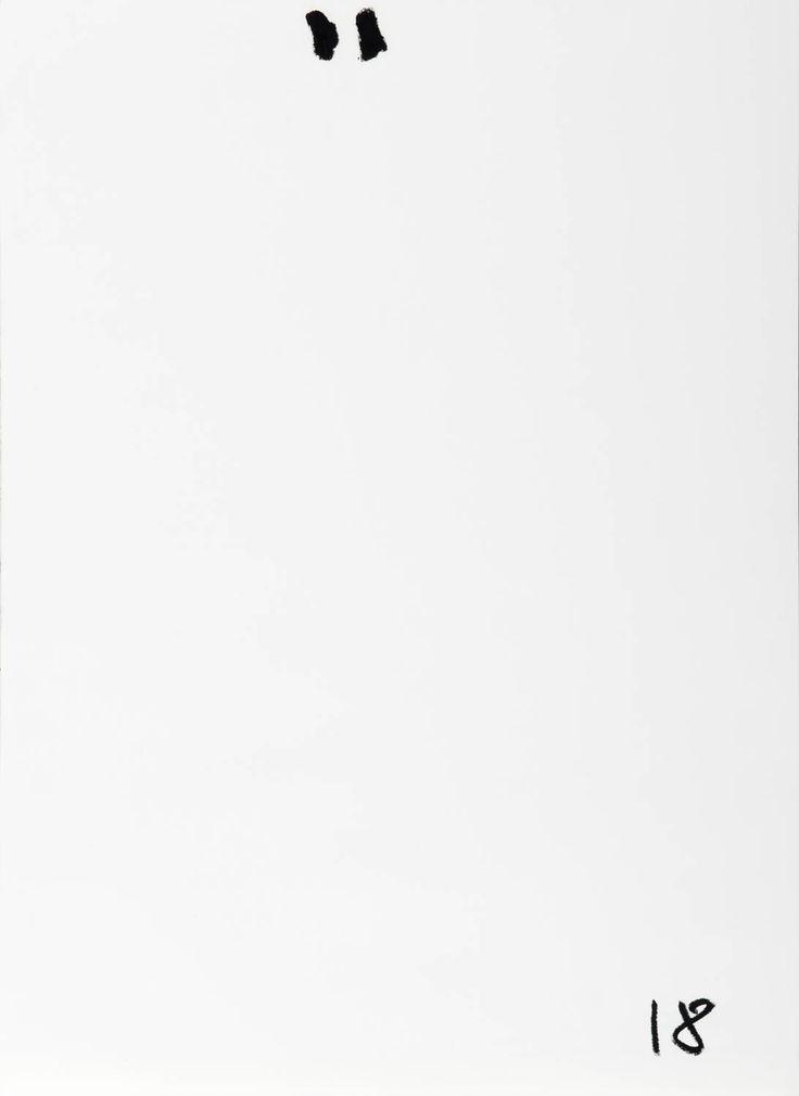 YOSEF JOSEPH DADOUNE   '' 18   29 X 42 CM  Oil pastel on paper   Photographer: Yigal Pardo