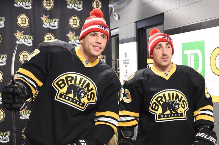 Milan Lucic and Brad Marchand