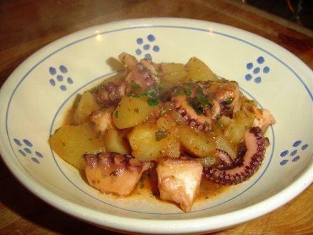 Polpo in umido con patate: Ricetta Siciliana - Siciliafan