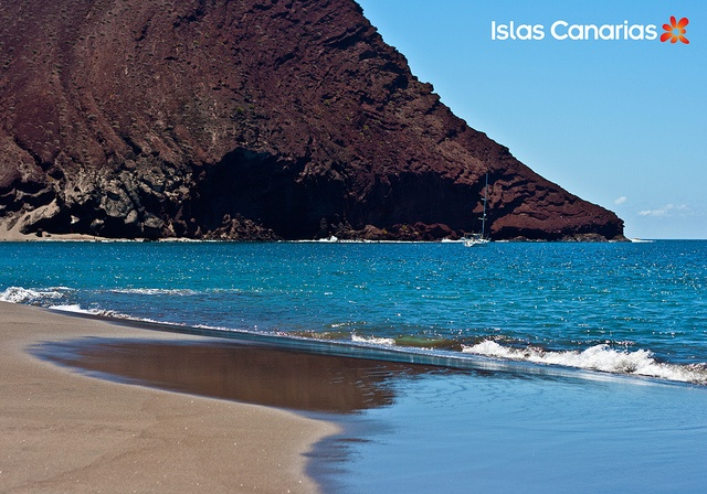 Playa de La Tejita. #Tenerife #Canarias: Vym Canaria, Luxury Villas, Www Tenerifec Com Vym, Canaria Real, Tenerife Canaria, Tenerife Islascanaria, Canary Island, Drago Icod Tenerife Fcra, Visit Www Tenerifec Com