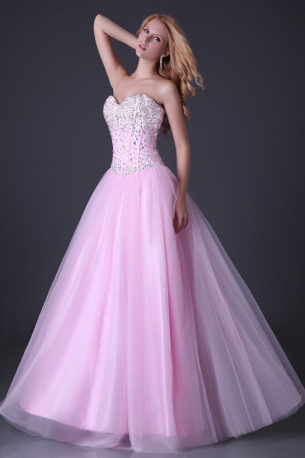 96 best Pink Prom Dresses images on Pinterest | Pink ball gowns ...