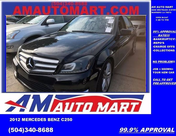 This 2012 Mercedes-Benz C-Class C 250 Luxury is listed on Carsforsale.com in Marrero, LA. This vehicle includes Grille Color - Chrome, Mirror Color - Chrome, Rear Spoiler, Air Filtration, Center Console Trim - Alloy, Door Trim - Alloy, Front Air Conditioning - Automatic Climate Control, Front Air Conditioning Zones - Dual, Interior Accents - Wood, Shift Knob Trim - Leather, Steering Wheel Trim - Leather, Additional Key - Removable Valet, Cruise Control, Multi-Function Remote - Fuel Filler…