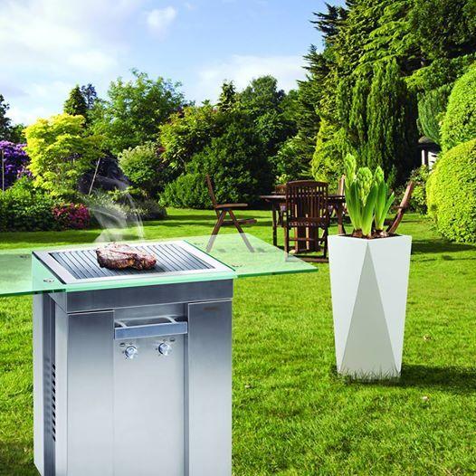 Díky designu KASPER povýšíte vaši zahradu na umělecké dílo…:)  KASPER DESIGN GRILL