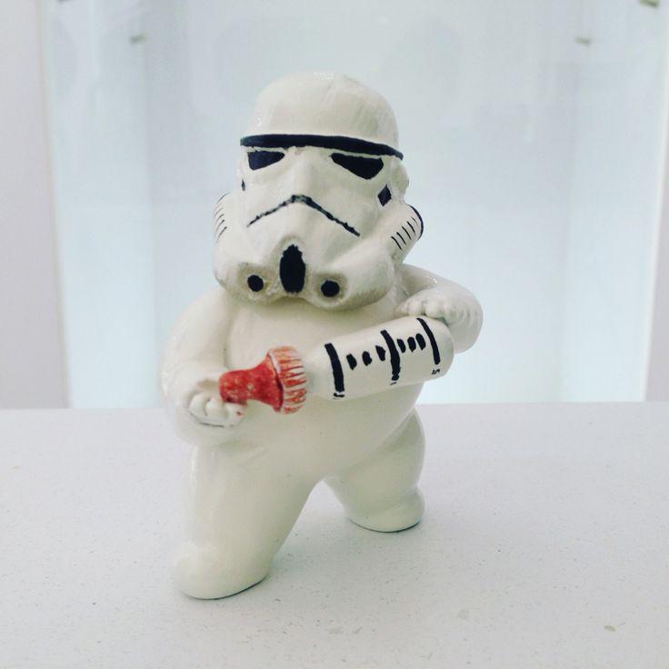 Baby Stormtrooper #stormtrooper #starwars #baby