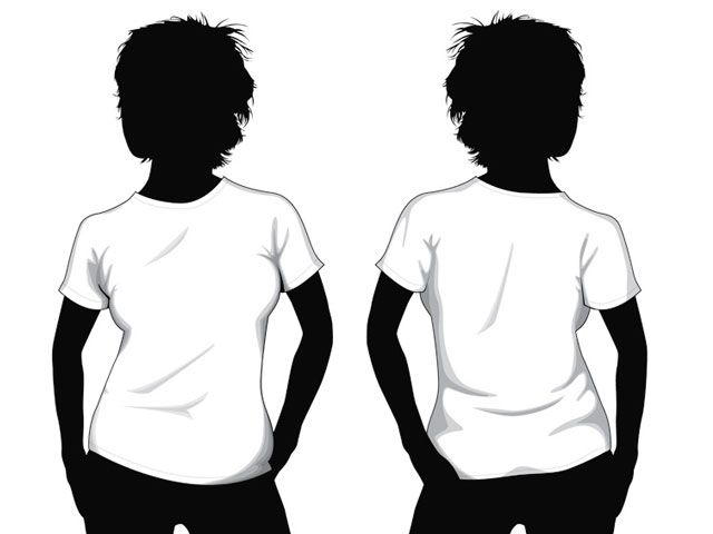 t shirt template with model - free download http www t shirt