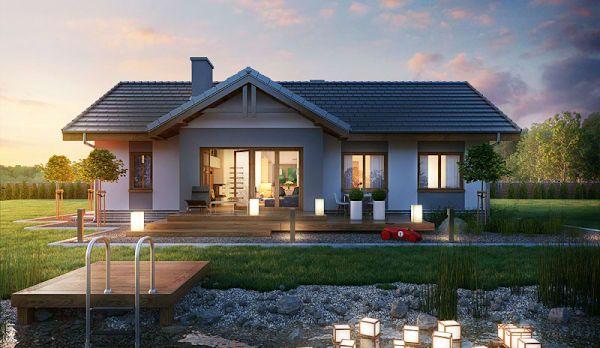 Encuentra los mejores Arquitectos para tu hogar en homify. ARCHON+ PROJEKTY DOMÓW: Arquitectos en Myślenice.