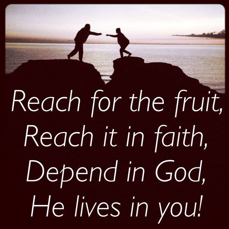 Reach out for others!