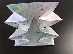 Turkish Map folding process step-by-step photo tutorial by George Oates on Flickr