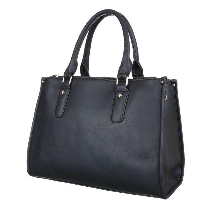 Diese elegante Damen Tasche im mittelgroßen Format bietet viel Platz für alle nötigen Utensilien. Das Obermaterial besteht aus hochwertigem Lederimitat.