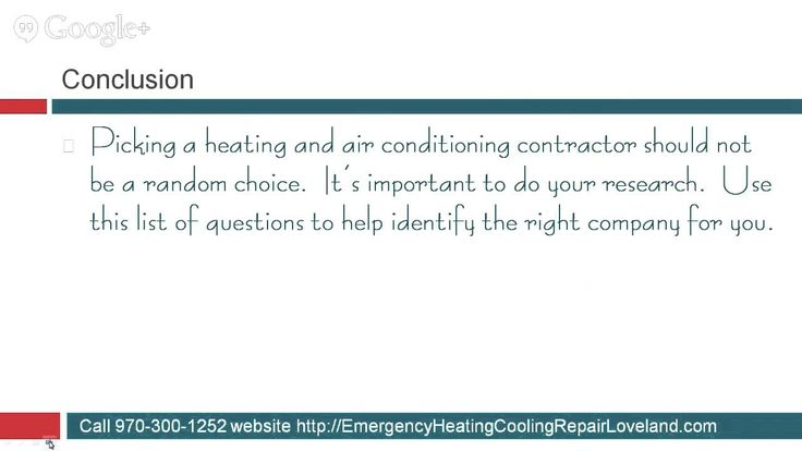 #15 of 15 Questions You Should Ask Any Heating and Air Conditioning Comp...