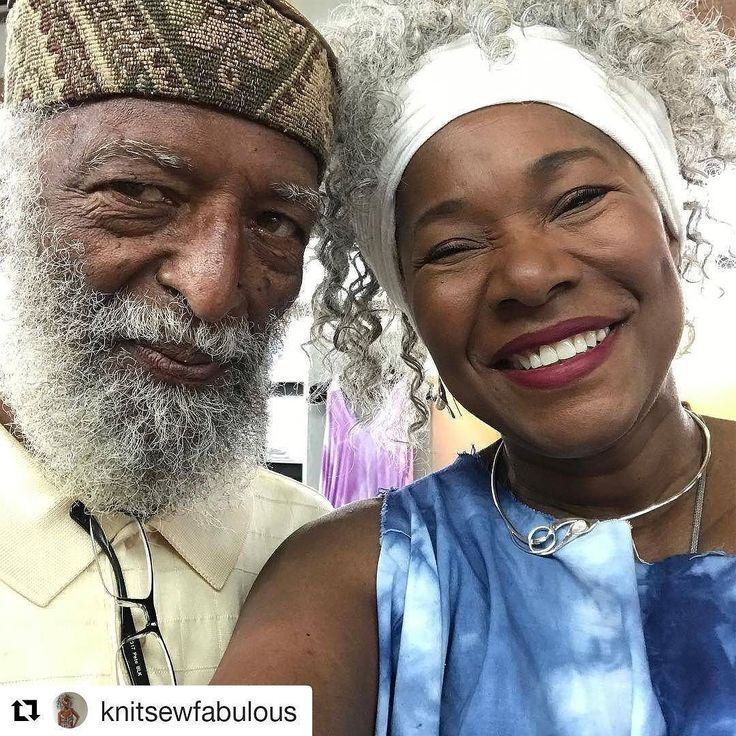There's beauty in friendship!  #GrayHair #MrBill #Wisdom #KnitSewFabulous #MutualAdmiration #DetroitGray #Bearded #GrayBeard #GrayNTextured #OurGrayHairIsBeautiful #Repost @knitsewfabulous Mr Bill Foster in Knit Sew Fabulous for Men #sundaystmkt #knitsewfabulous #fiberart #readventures #reathegal #readagal