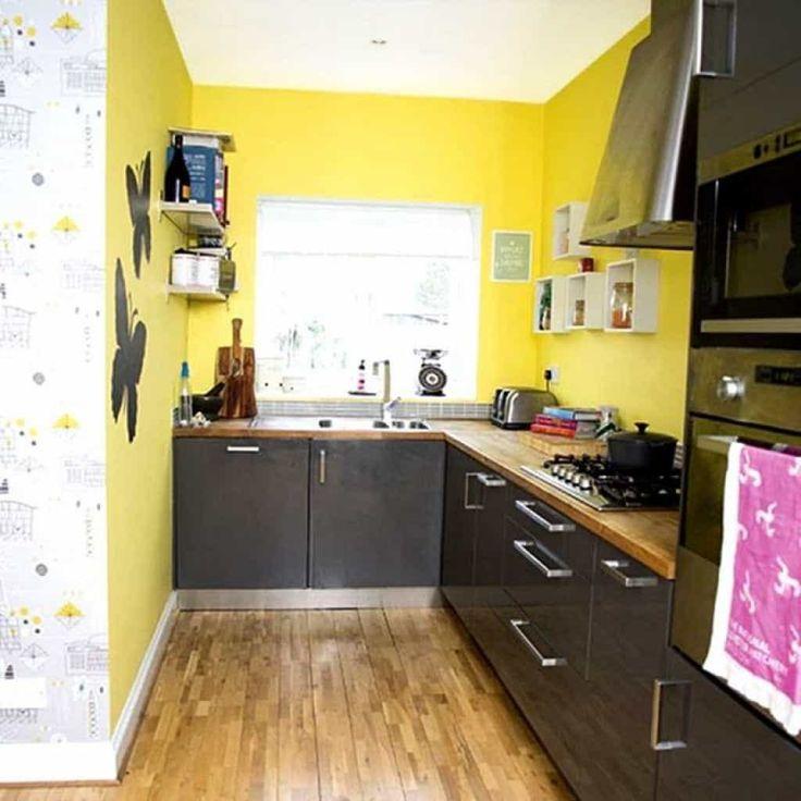 Yellow Kitchen Walls: Best 25+ Yellow Kitchen Walls Ideas On Pinterest