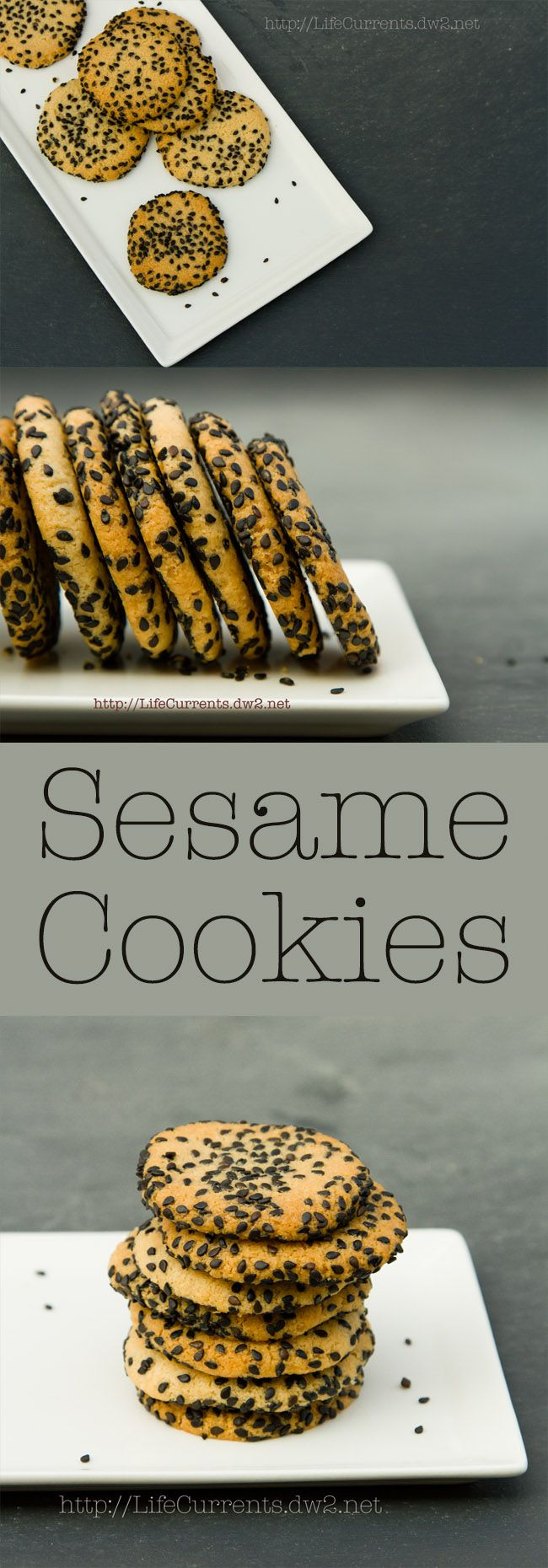 Sesame Cookies - Life Currents