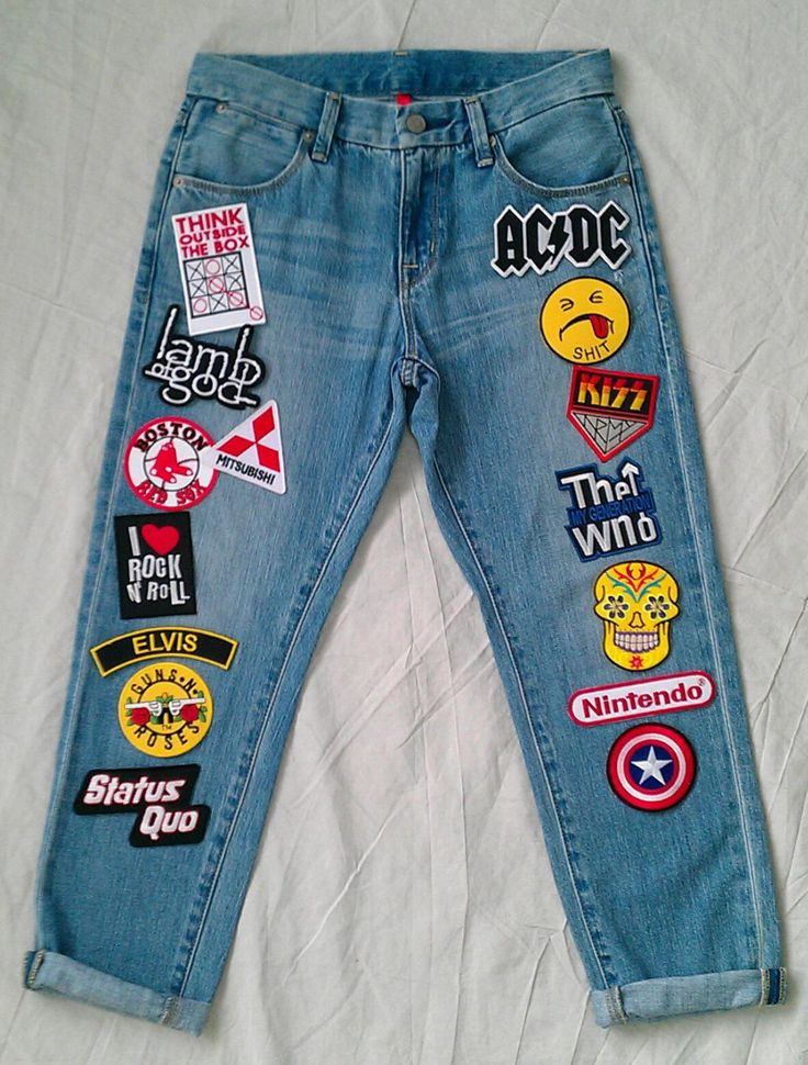 Design Patch for jeans