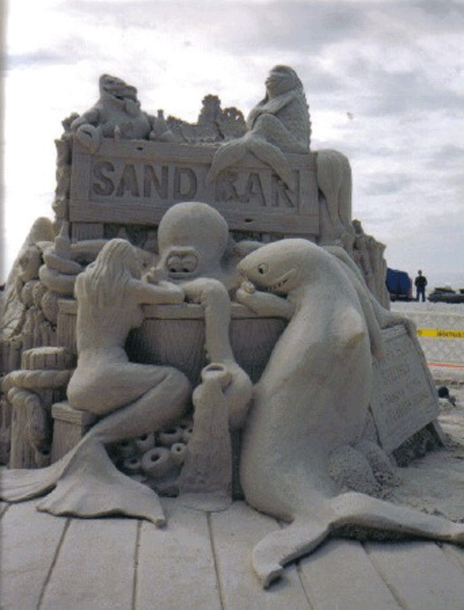 Sand Bar 2 by Sanding Ovations of Treasure Island, FL.  Simply awesome.