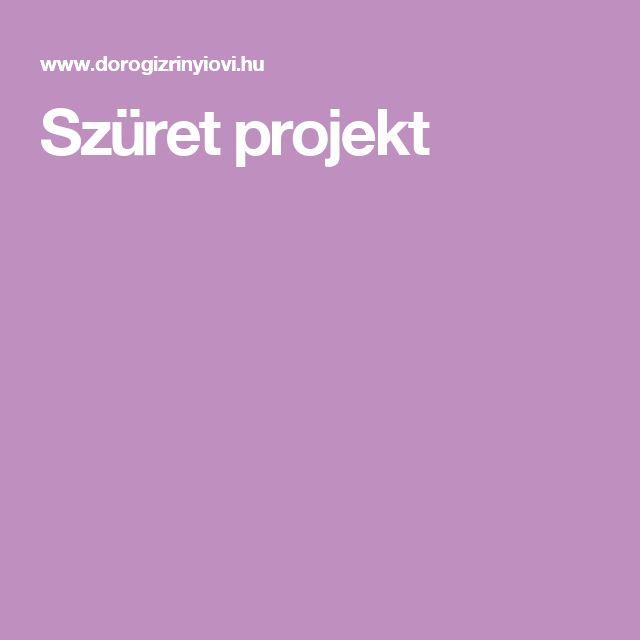 Szüret projekt