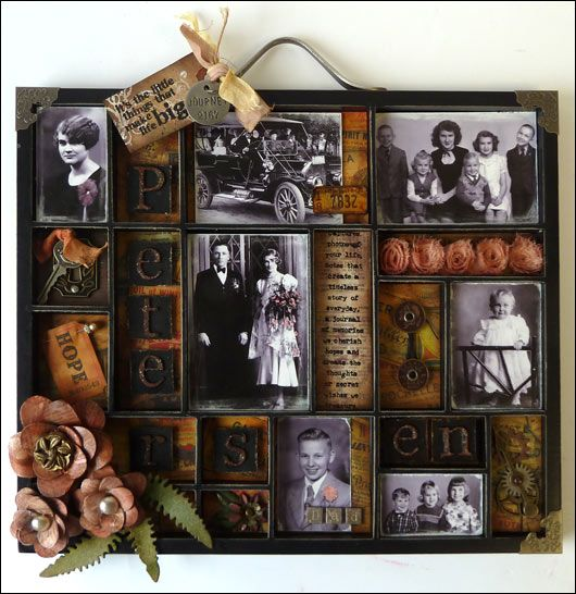 Isn't this an amazing way to remember grandparents, etc?