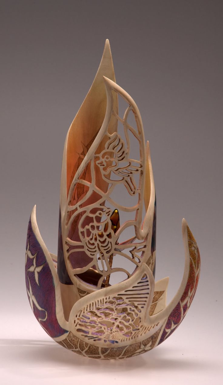 Art fairs mechanical movement metal paris russia sculptures wood - Joey Richardson Wood Sculpturegourd Artwoodturningwoodworkwood Creationsmosquescementstatuesengland