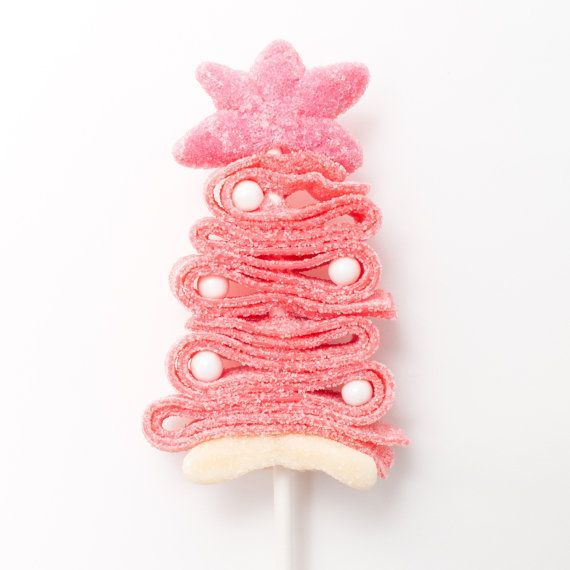 10 brochetas de dulce árbol de Navidad de color por SweetsIndeed