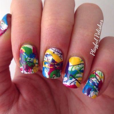 Nail Art Pintura Nail Art Pictorial