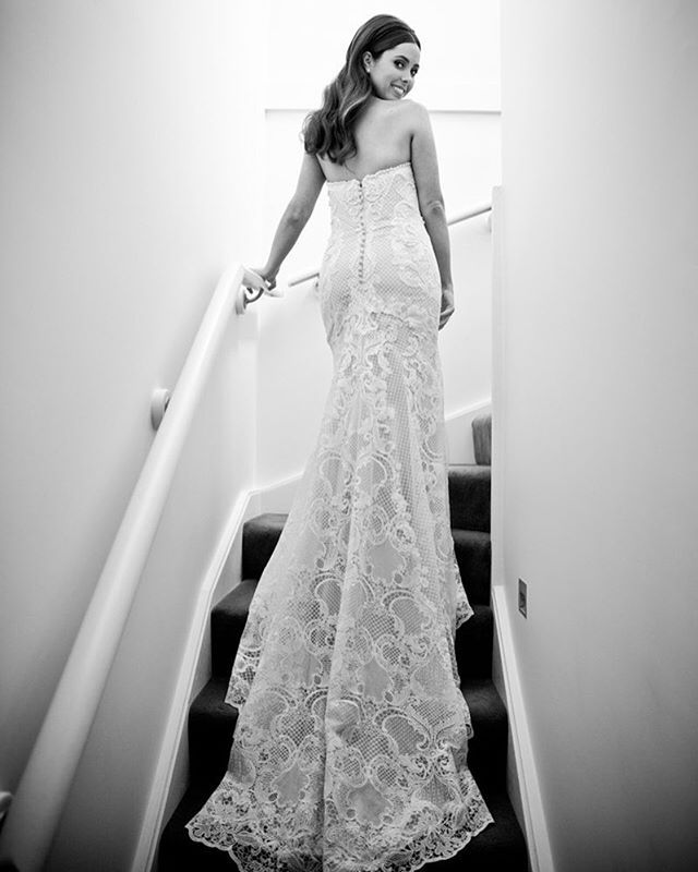 Beautiful Jessica in her lace gown from @marrymebridal_  #gmphotographics #grahammonro #celebrityweddingphotographer #canonmasterphotographer #masterphotographer #sydneysbestphotographers #sydneywedding #weddinggown #bride #love #blackandwhite