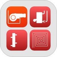 Heating and Natural Gas: Pipe Sizing, Pressure Drop and Cost Calculations.  This is a collection of apps for iPhone, aimed mostly at heating professionals. It includes the following apps:  - Natural Gas Pipe Size: pipe sizing & pressure drop calculation for natural gas installations  - Heating Pipe Size: pipe sizing for hydronic heating & cooling systems  - Floor Heating: calculation of hydronic floor heating systems  - Hydraulic Separator: quickly determine dimensions of a hydraulic…