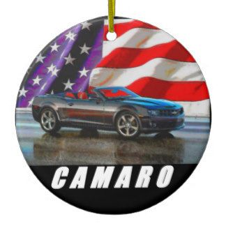 2011 Camaro Convertible Ceramic Ornament