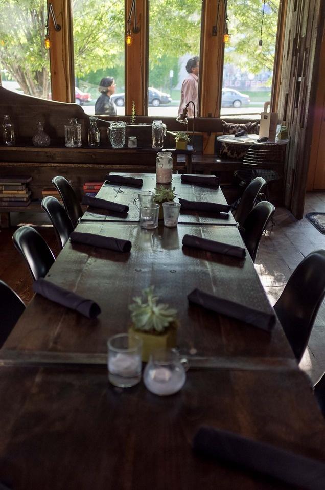 The restaurant Pallet on 300 West in Salt Lake City, Utah. (Trent Nelson  |  The Salt Lake Tribune)
